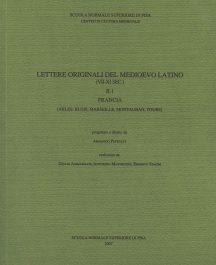 Lettere originali del Medioevo latino (VII-XI secolo), II.1, Francia (Arles, Blois, Marseille, Montauban, Tours)-0