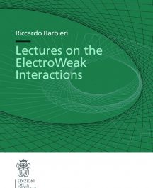 Lectures on the ElectroWeak Interactions-0