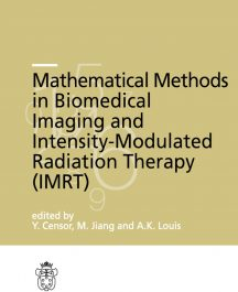 Mathematical Methods in Biomedical Imaging and Intensity-Modulated Radiation Therapy (IMRT)-0