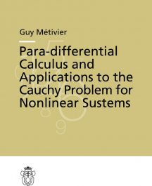 Para-differential Calculus and Applications to the Cauchy Problem for Nonlinear Systems-0