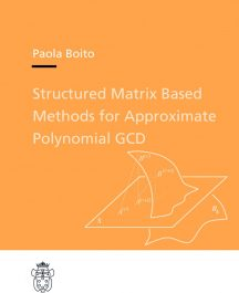 Structured Matrix Based Methods for Approximate Polynomial GCD-0
