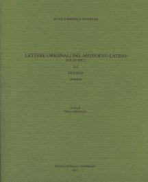 Lettere originali del Medioevo latino (VII-XI sec.), II.2, Francia (Paris)-0