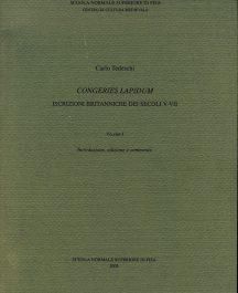 Congeries lapidum. Iscrizioni britanniche dei secoli V-VII-0