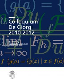 Colloquium De Giorgi 2010-2012-0