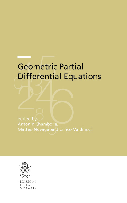Geometric Partial Differential Equations-0
