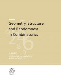 Geometry, Structure and Randomness in Combinatorics-0