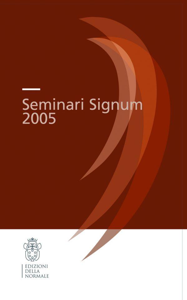 Seminari Signum 2005 -0