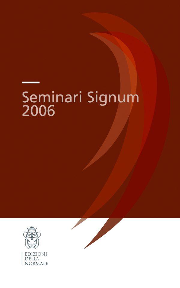 Seminari Signum 2006 -0