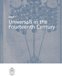 Universals in the Fourteenth Century-0