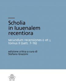Scholia in Iuuenalem recentiora secundum recensiones f et c tomus II (satt. 7-16)-0
