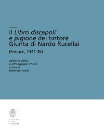 Il Libro discepoli e pigione del tintore Giunta di Nardo Rucellai-0