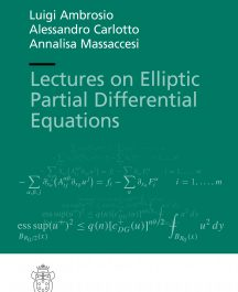 Lectures on Elliptic Partial Differential Equations-0